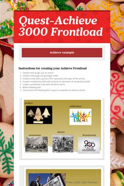 Quest-Achieve 3000 Frontload