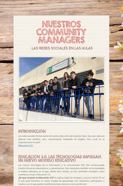 NUESTROS COMMUNITY MANAGERS