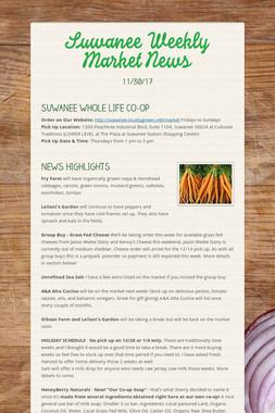 Suwanee Weekly Market News