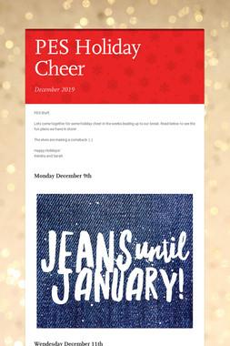 PES Holiday Cheer