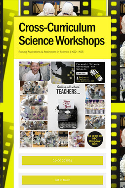 Cross-Curriculum Science Workshops