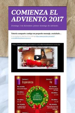 COMIENZA EL ADVIENTO 2017