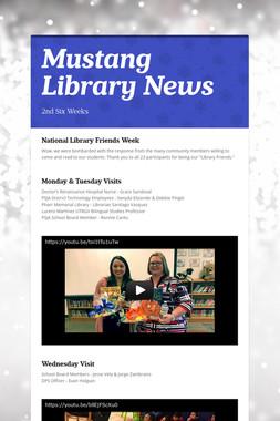 Mustang Library News
