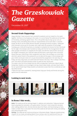 The Grzeskowiak Gazette