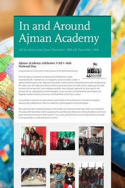In and Around Ajman Academy