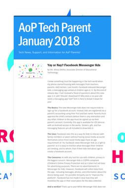 AoP Tech Parent January 2018