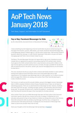 AoP Tech News January 2018
