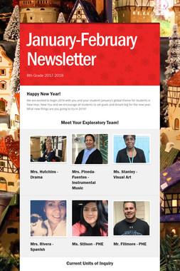 January-February Newsletter