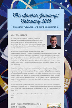The Anchor January/ February 2018