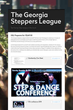 The Georgia Steppers League