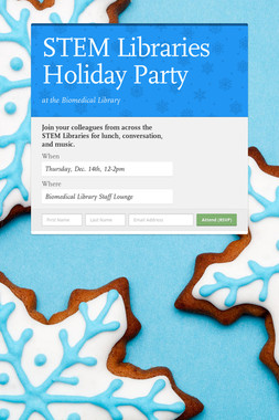 STEM Libraries Holiday Party