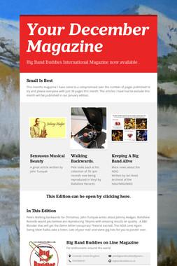 Your December Magazine