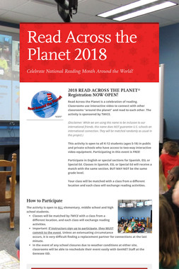 Read Across the Planet 2018