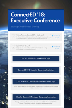 ConnectED '18: Executive Conference