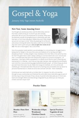 Gospel & Yoga