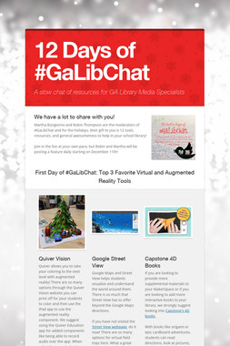 12 Days of #GaLibChat