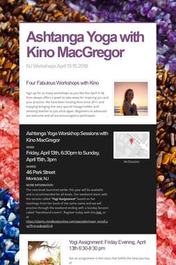 Ashtanga Yoga with Kino MacGregor