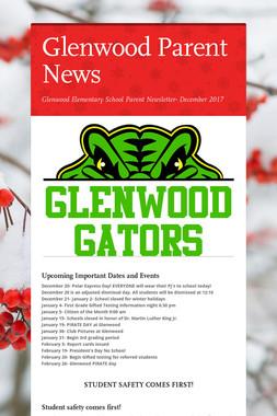 Glenwood Parent News