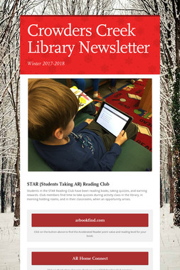 Crowders Creek Library Newsletter