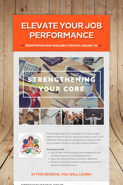 Elevate Your Job Performance