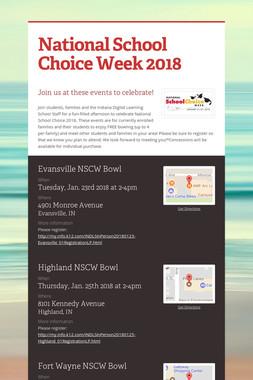 National School Choice Week 2018