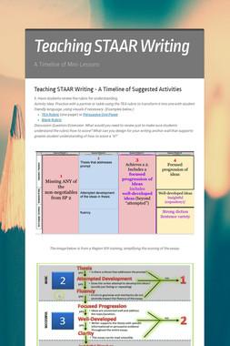 PD: Teaching STAAR Writing