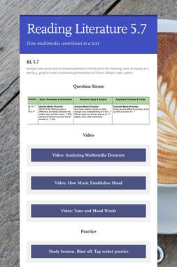 Reading Literature 5.7