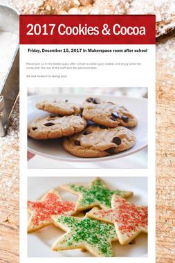 2017 Cookies & Cocoa