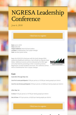 NGRESA Leadership Conference