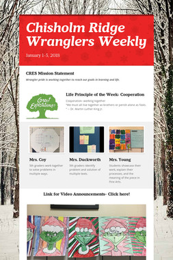 Chisholm Ridge Wranglers Weekly