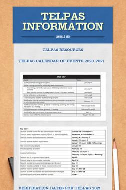 TELPAS Information