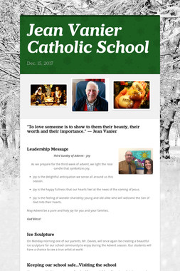 Jean Vanier Catholic School