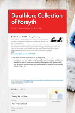 Duathlon: Collection of Forsyth