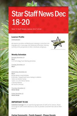 Star Staff News   Dec 18-20
