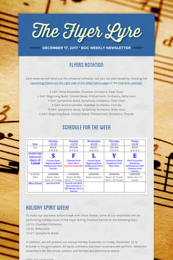 The Flyer Lyre