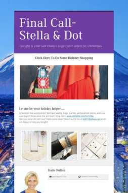 Final Call- Stella & Dot
