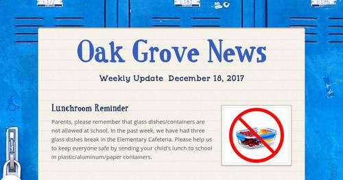 Oak Grove News