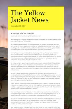 The Yellow Jacket News