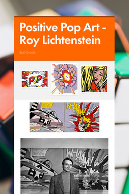 Positive Pop Art - Roy Lichtenstein
