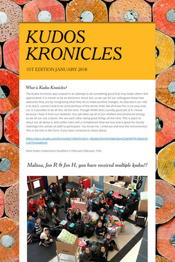 KUDOS KRONICLES