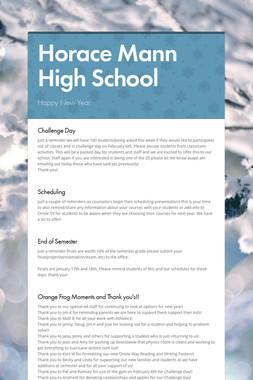 Horace Mann High School