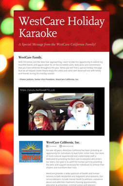 WestCare Holiday Karaoke