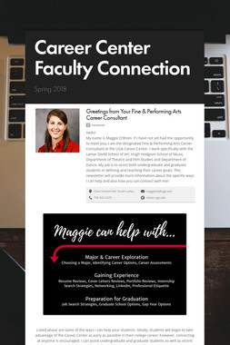 Career Center Faculty Connection