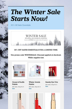 The Winter Sale Starts Now!