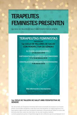 TERAPEUTES FEMINISTES PRESENTEN