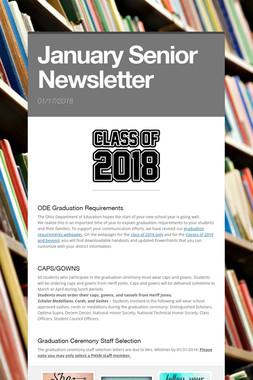 January Senior Newsletter