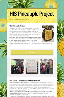 HIS Pineapple Project
