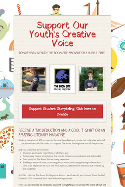 Support Our Youth's Creative Voice