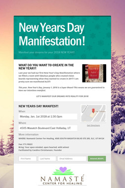 New Years Day Manifestation!
