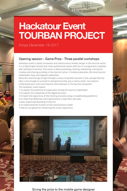 Hackatour Event  TOURBAN PROJECT